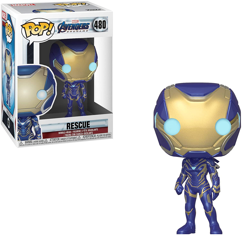 Avengers Endgame - Rescue 480 Funko Pop (Resgate)