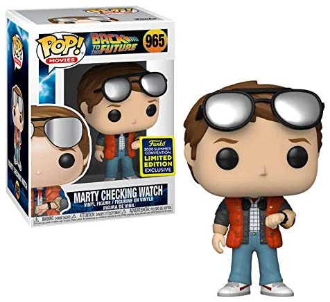 Back to the Future - Marty McFly Checking Watch 965 SDCC Funko Pop