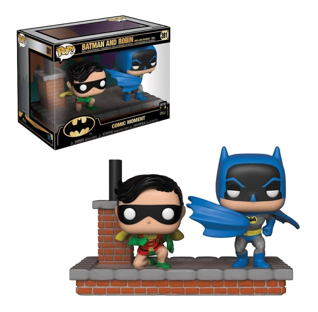Batman and Robin 1964 New Look 281 Funko Pop Comic Moments