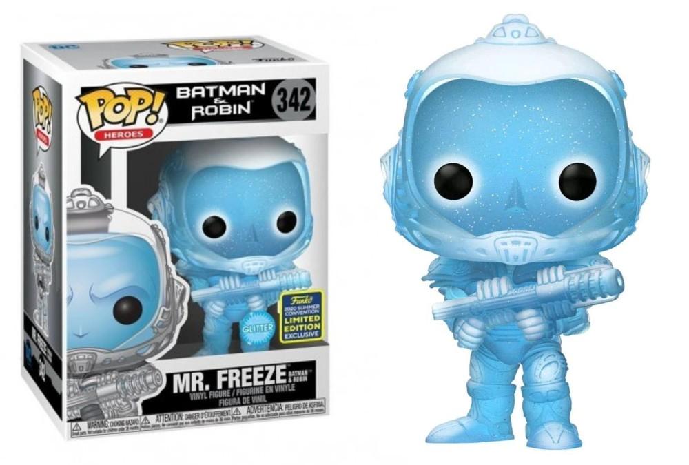 Batman & Robin - Mr. Freeze 342 Funko Pop SDCC Exclusive