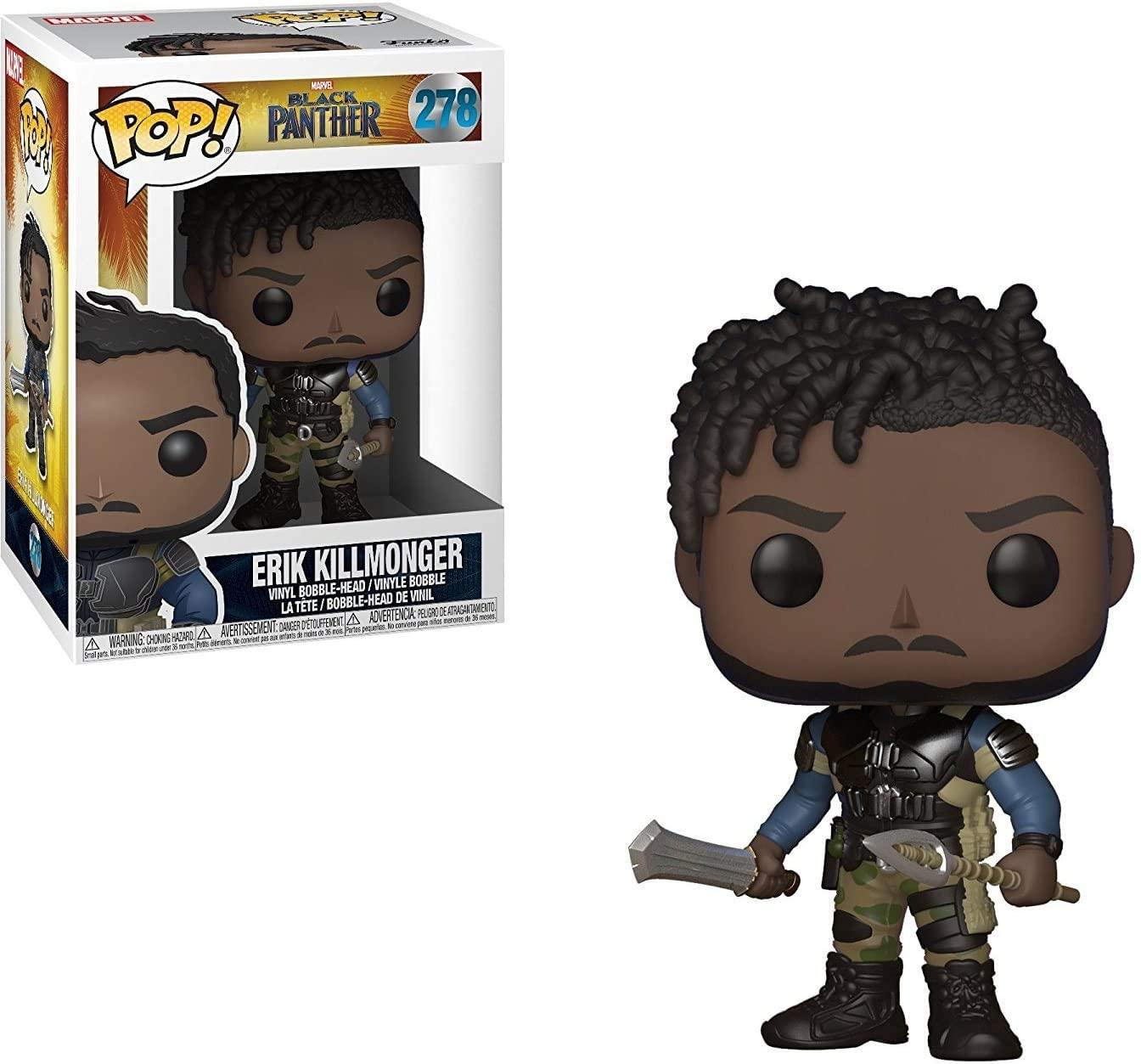Funko Pop Erik Killmonger 278 Pantera Negra Black Panther
