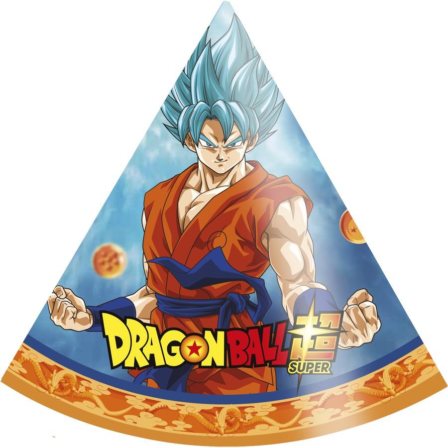 Chapéu - Dragon Ball Super - 08 Unidades - Festcolor