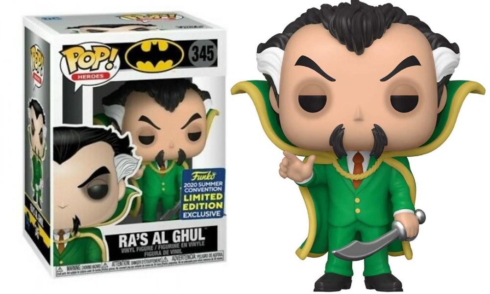 DC Heroes - Ra's Al Ghul 345 Funko Pop SDCC Exclusive
