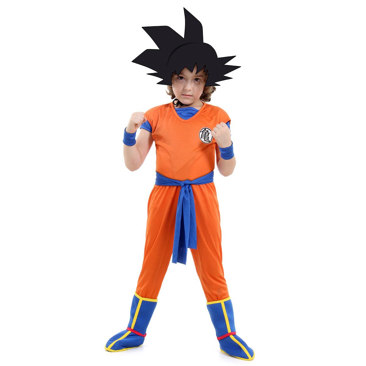 Dragon Ball - Fantasia de Luxo - Son Goku - Sulamericana