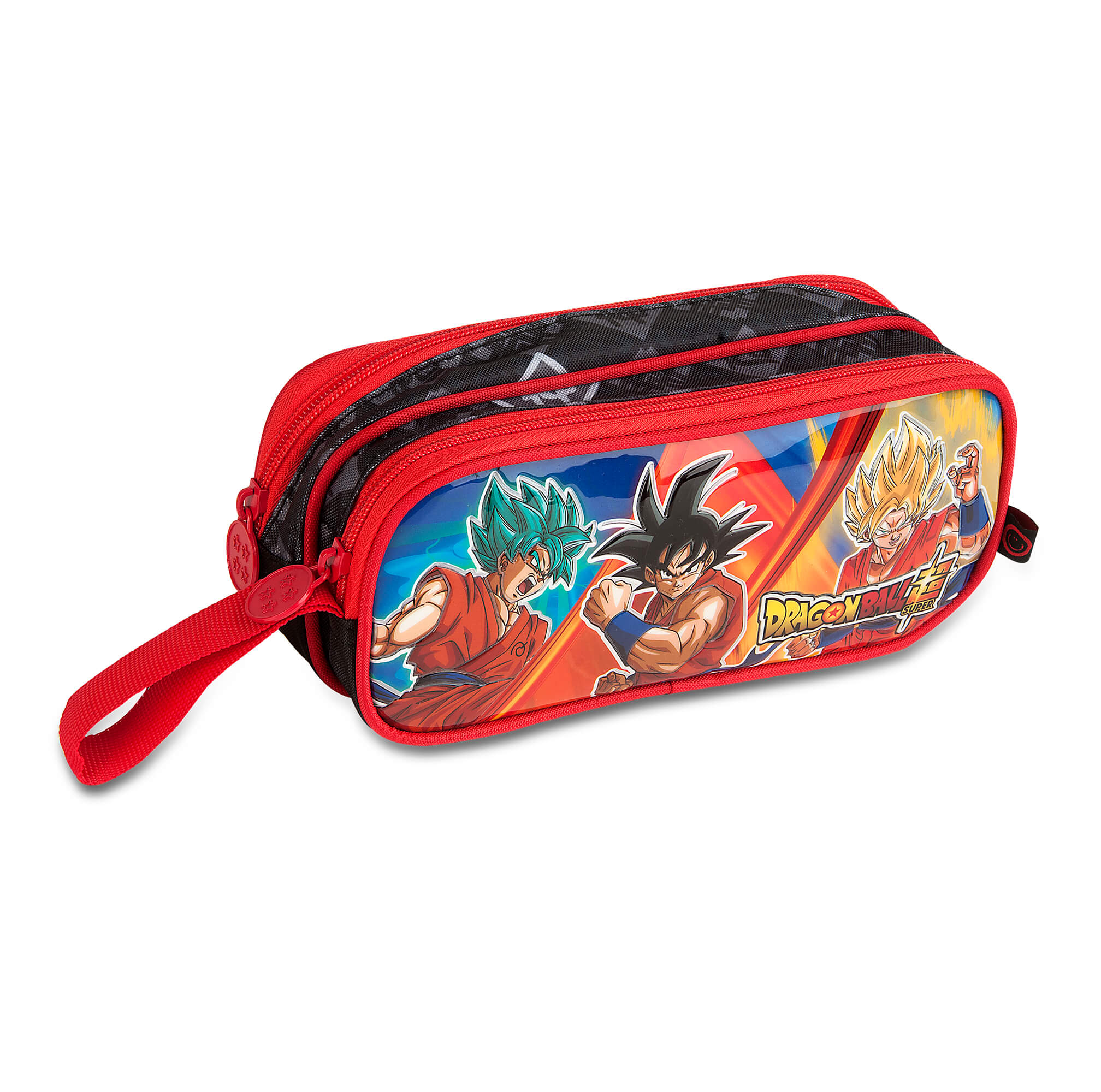 Dragon Ball Super - Estojo Duplo Vermelho - Clio Style
