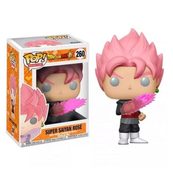 Funko Pop Goku Black Super Saiyan Rosé 260 Dragon Ball Super