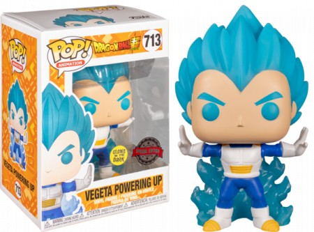 Dragon Ball Super - Vegeta Powering Up #713 Exclusive Funko Pop (Glows in the Dark)