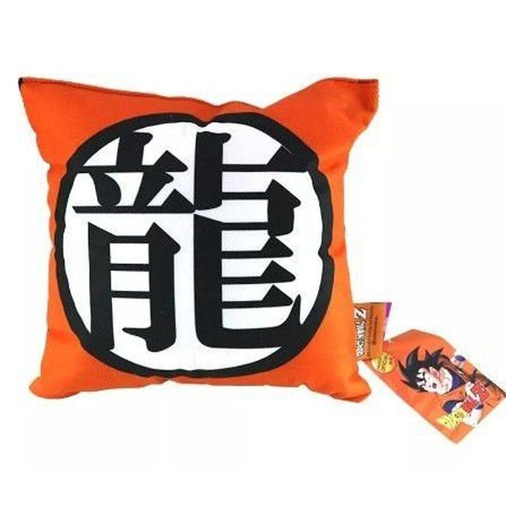 Dragon Ball Z - Almofada Símbolo Dragão 25x25cm - Zona Criativa