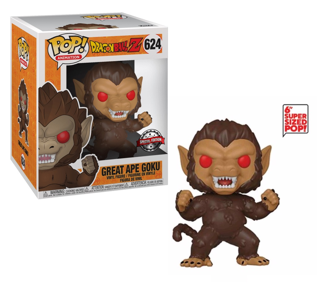 Dragon Ball Z - Great Ape Goku 624 6 Inches Exclusive Funko Pop