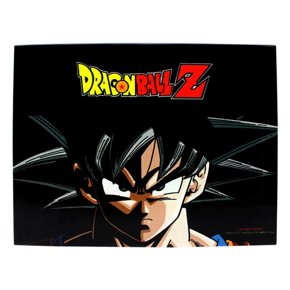 Dragon Ball Z - Quadro Metal Decorativo Son Goku - Zona Criativa