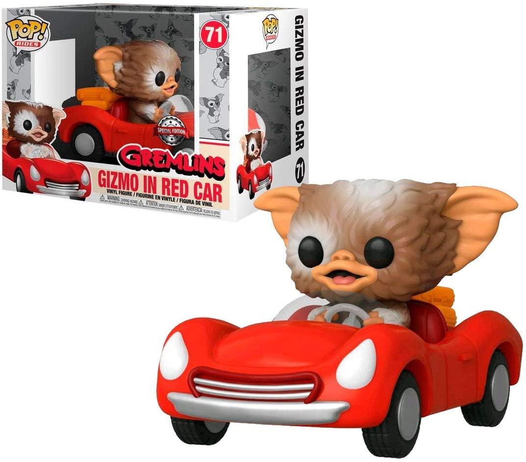 Funko Pop Rides Gizmo in Red Car 71 Gremlins