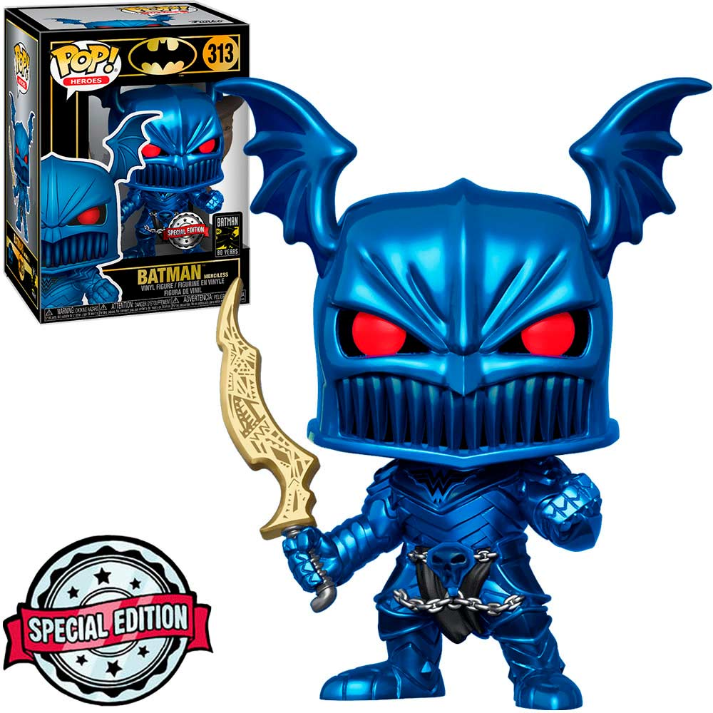 Funko Pop Batman Merciless 313 Batman 80 Years