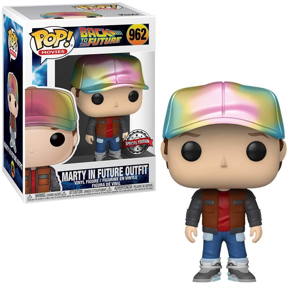 Funko Pop De Volta Para o Futuro Marty McFly Future Outfit 962 Exclusive