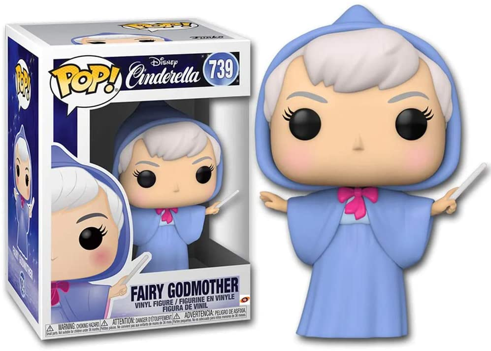 Funko Pop Fairy Godmother 739 Disney Cinderella