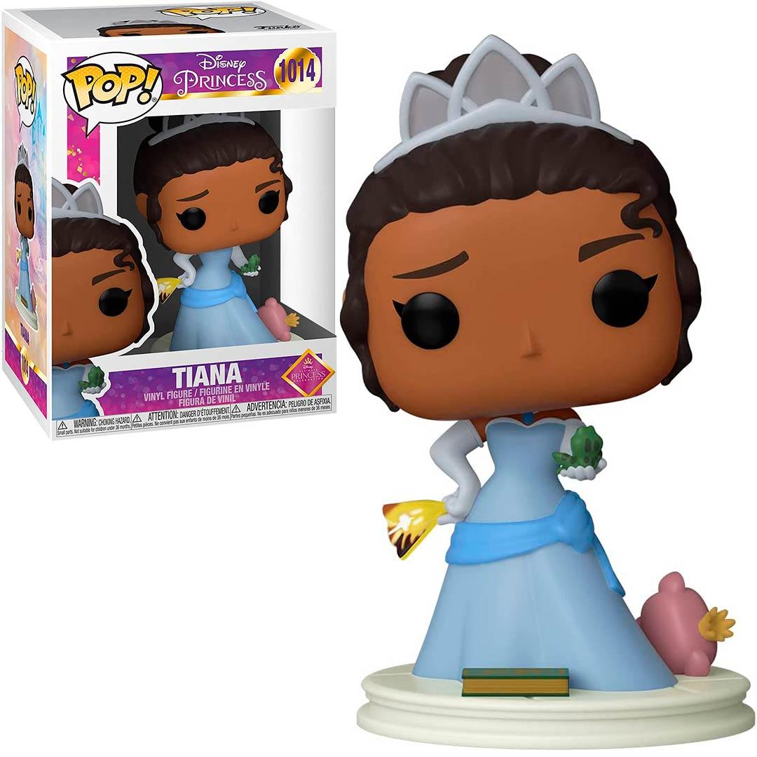 Funko Pop Tiana 1014 A Princesa e o Sapo Ultimate Disney Princess