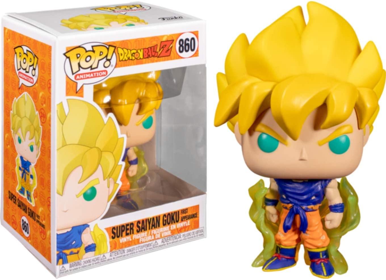 Funko Pop Goku Super Saiyan 860 First Appearance Dragon Ball Z
