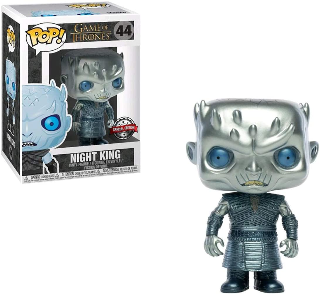 Funko Pop Night King (Rei da Noite) 44 Metallic Game of Thrones