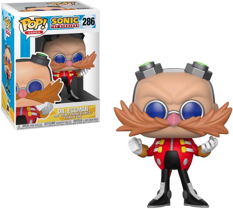 Funko Pop Dr. Eggman 286 Sonic The Hedgehog