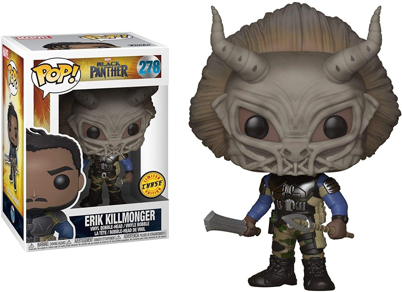 Funko Pop Erik Killmonger 278 CHASE Pantera Negra Black Panther