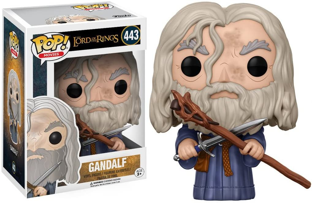 Funko Pop Gandalf 443 Senhor dos Anéis Lord of the Rings