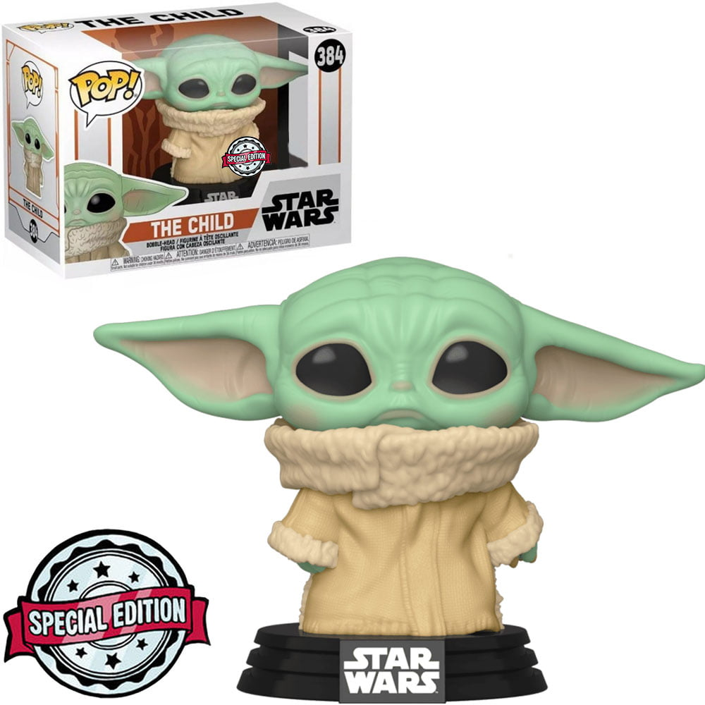 Funko Pop Baby Yoda 384 The Child Concerned Star Wars The Mandalorian