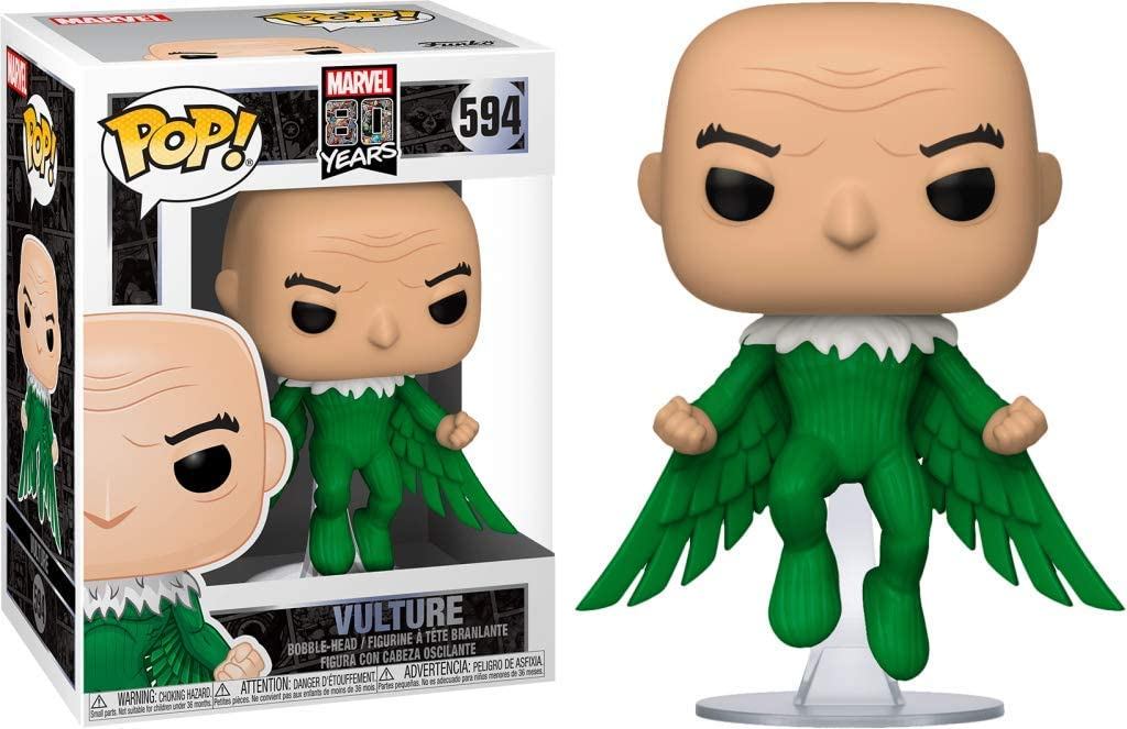 Funko Pop Abutre - Vulture First Appearance 594 Marvel 80 Years
