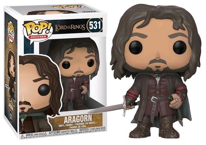 Funko Pop Aragorn 531 - Senhor dos Anéis