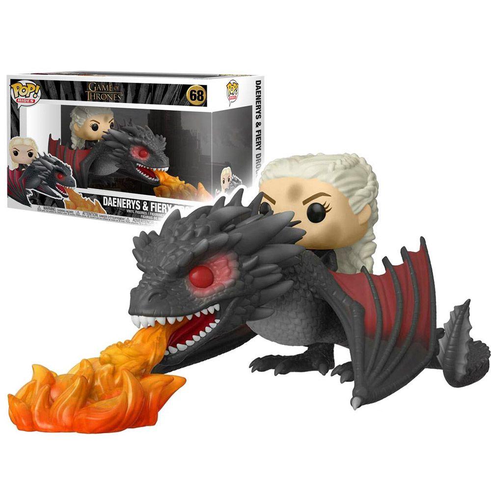 Funko Pop Daenerys Targaryen and Fiery Drogon 68 Game of Thrones