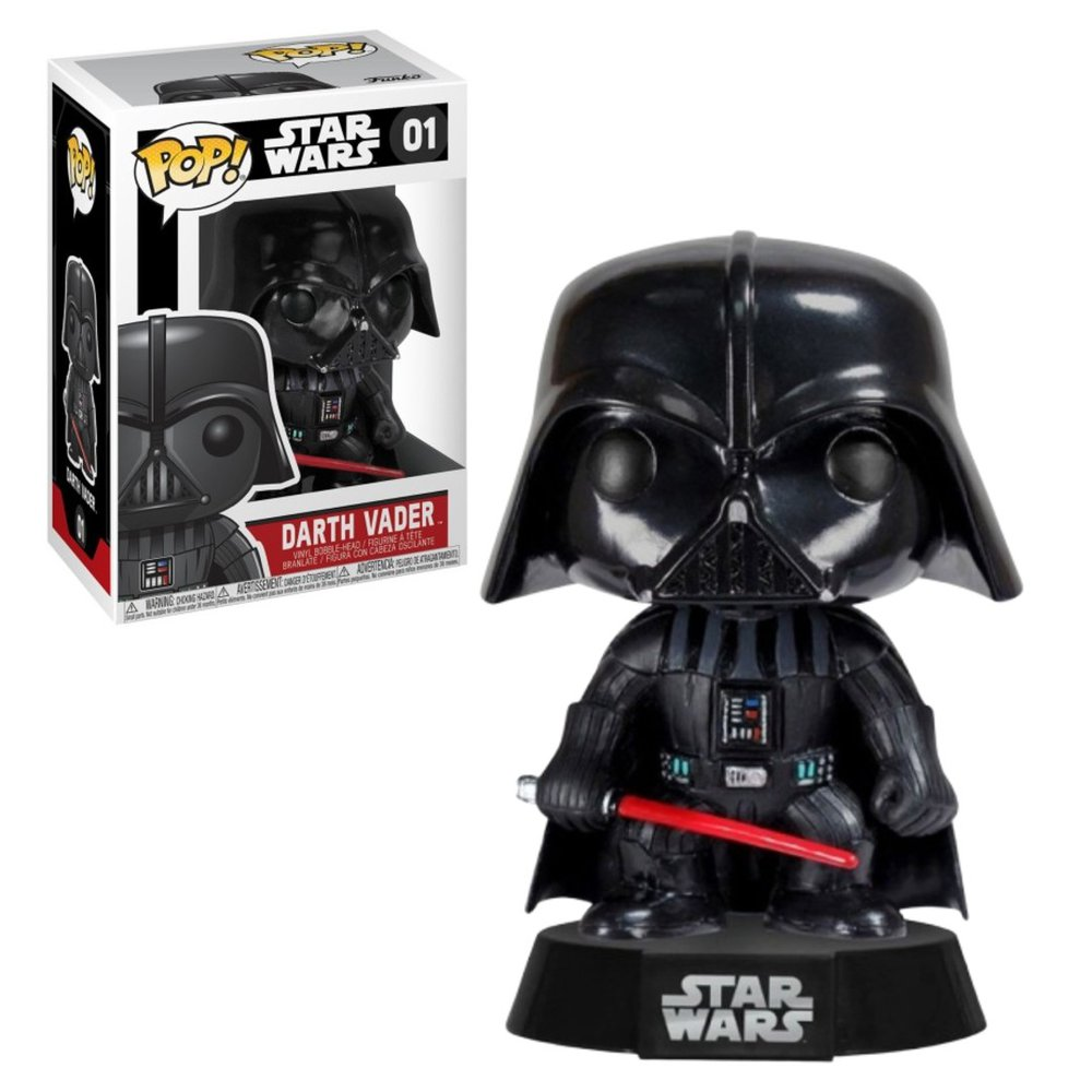 Funko Pop Darth Vader 01 - Star Wars