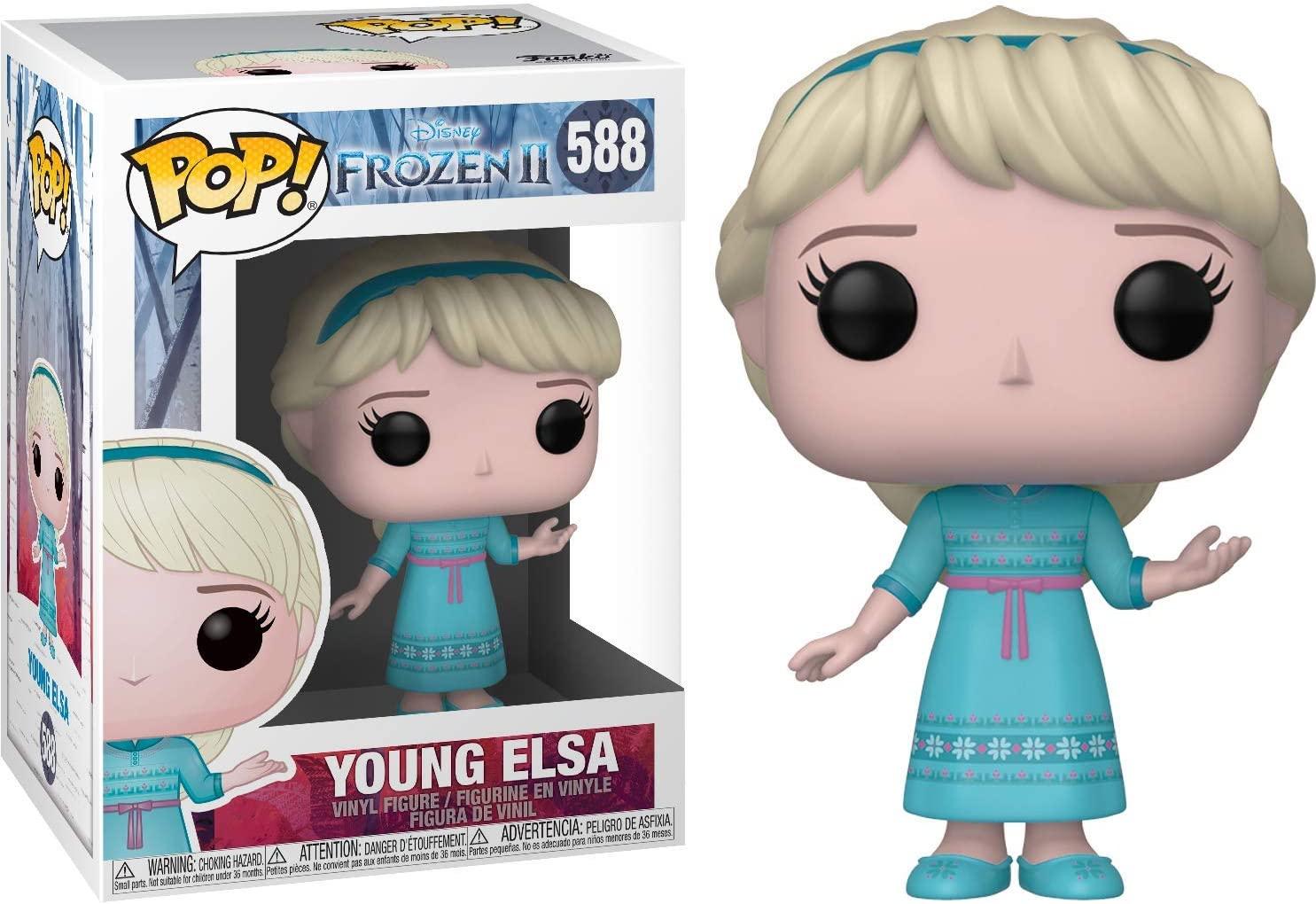 Funko Pop Elsa Young 588 - Frozen II