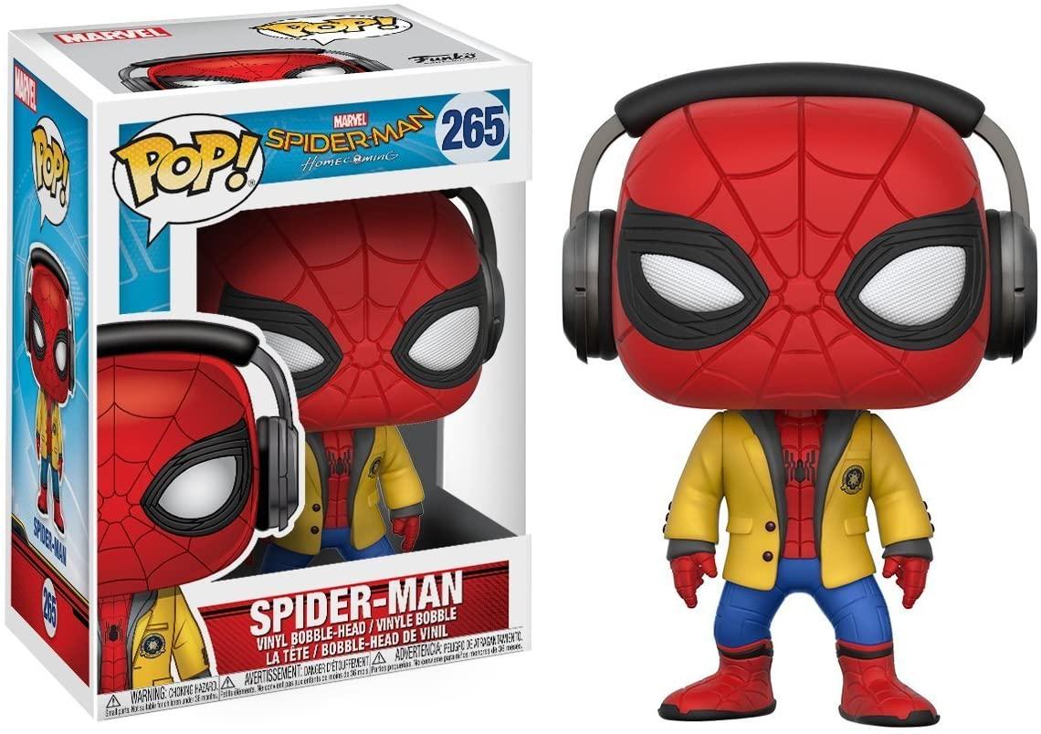 Funko Pop Homem Aranha Headphones 265 - Spider-Man Homecoming