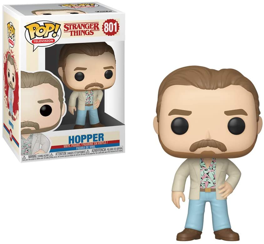 Funko Pop Hopper Date Night 801 - Stranger Things