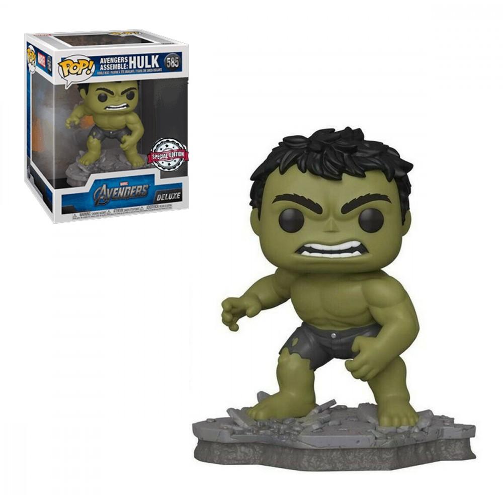 Funko Pop Hulk 585 Deluxe - Avengers Assemble Vingadores