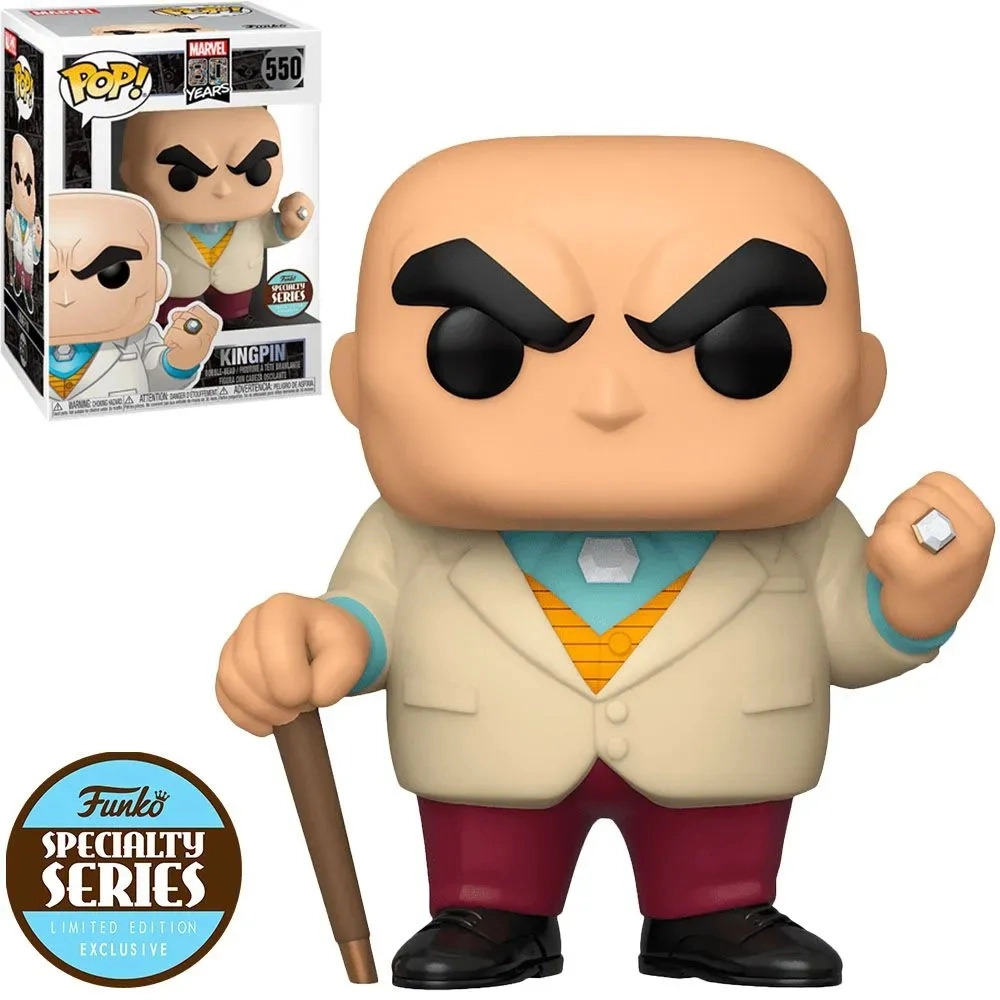 Funko Pop Kingpin Rei do Crime 550 Specialty Series - Marvel 80 Years