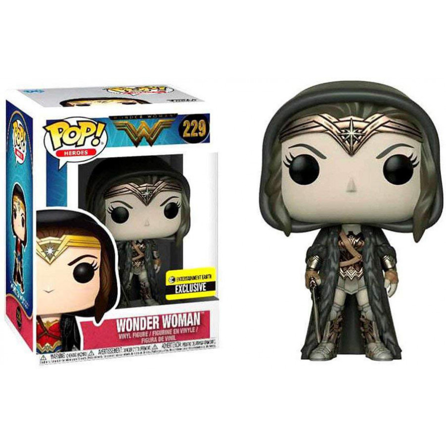 Funko Pop Mulher Maravilha 229 Wonder Woman (Cloaked) Sepia