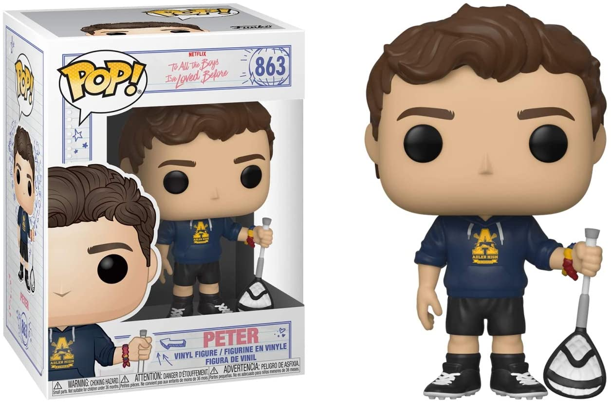Funko Pop Peter with Scrunchie 863 - To All The Boys I've Loved Before