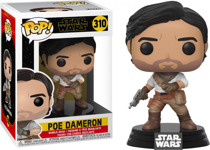 Funko Pop Poe Dameron 310 - Star Wars The Rise of Skywalker