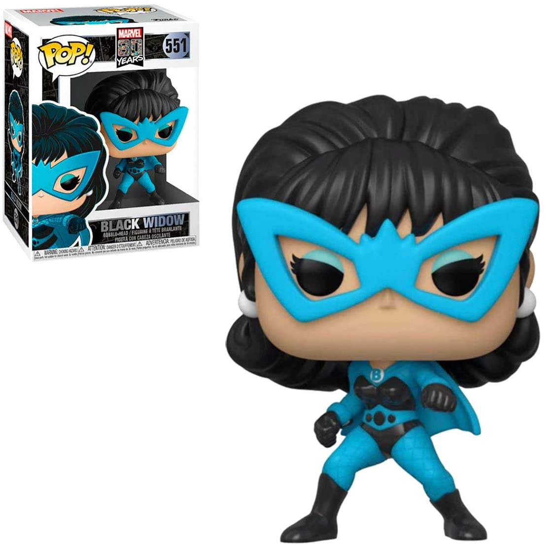 Funko Pop Black Widow First Appearance 551 Marvel 80 Years