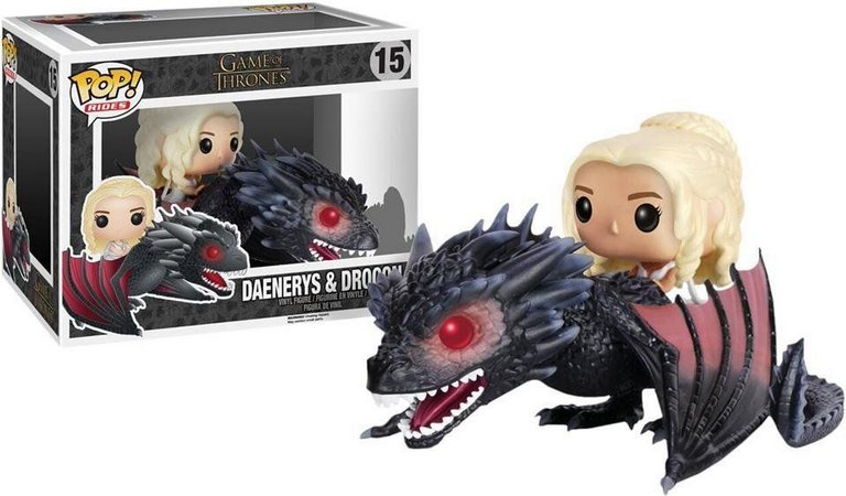 Game Of Thrones - Daenerys Targaryen And Drogon #15 Funko Pop Rides