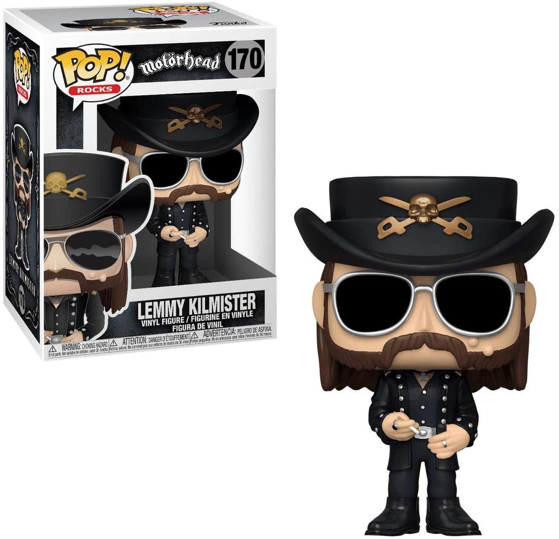 Motörhead - Lemmy Kilmister 170 Funko Pop Rocks