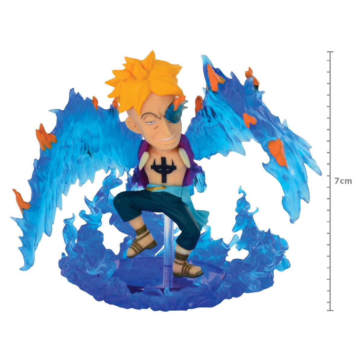 One Piece - Marco - World Collectable Figure WCF - Burst - Bandai Banpresto