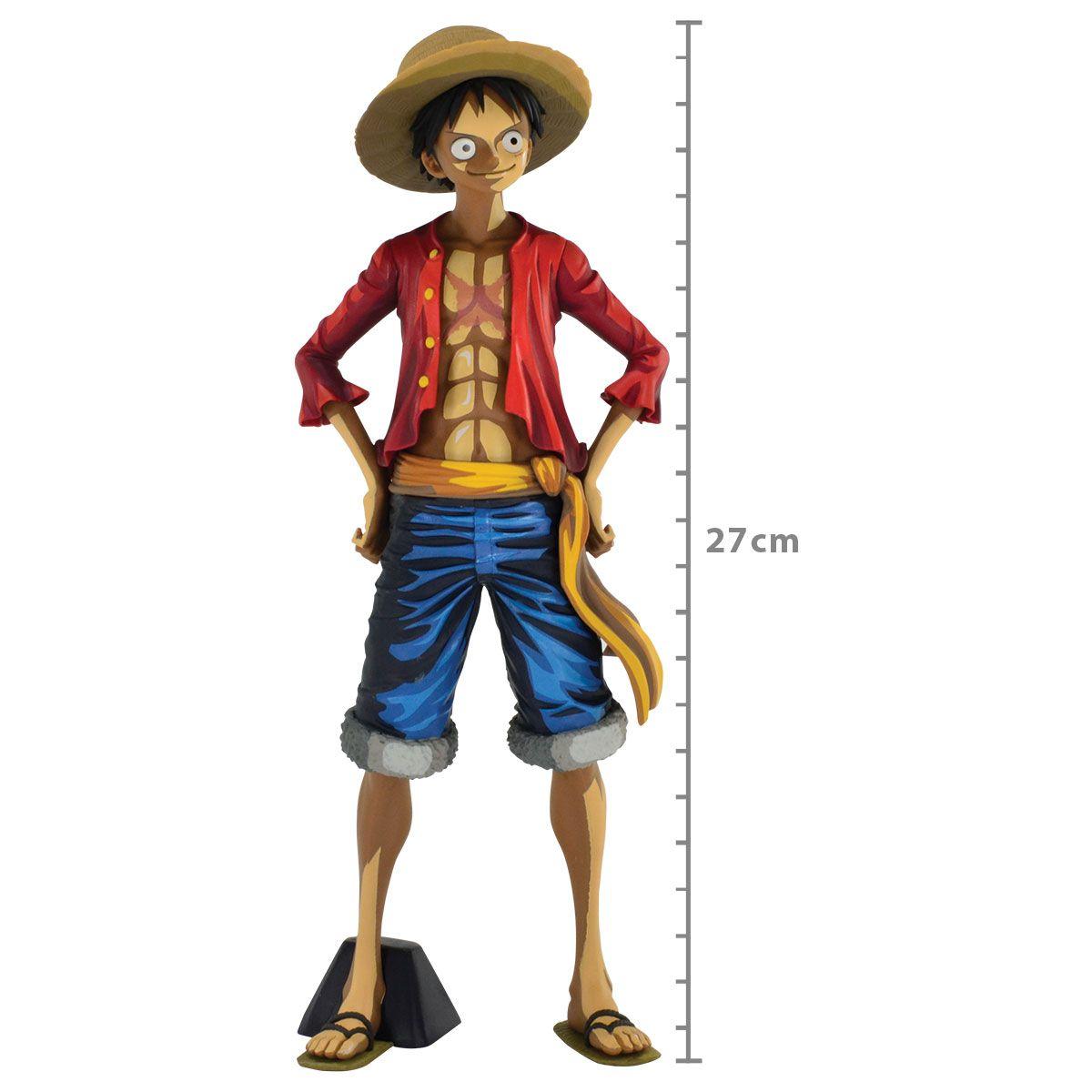 One Piece - Monkey D. Luffy - Grandista - Manga Dimensions - Bandai Banpresto