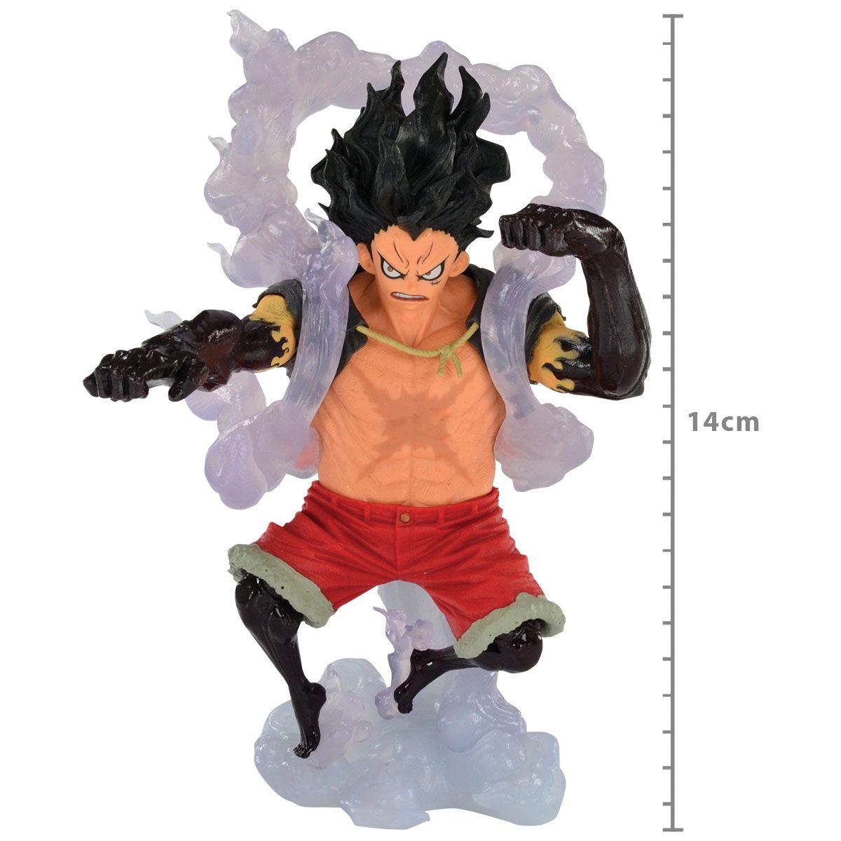 One Piece - Monkey D. Luffy - The Snakeman - King of Artist - Bandai Banpresto