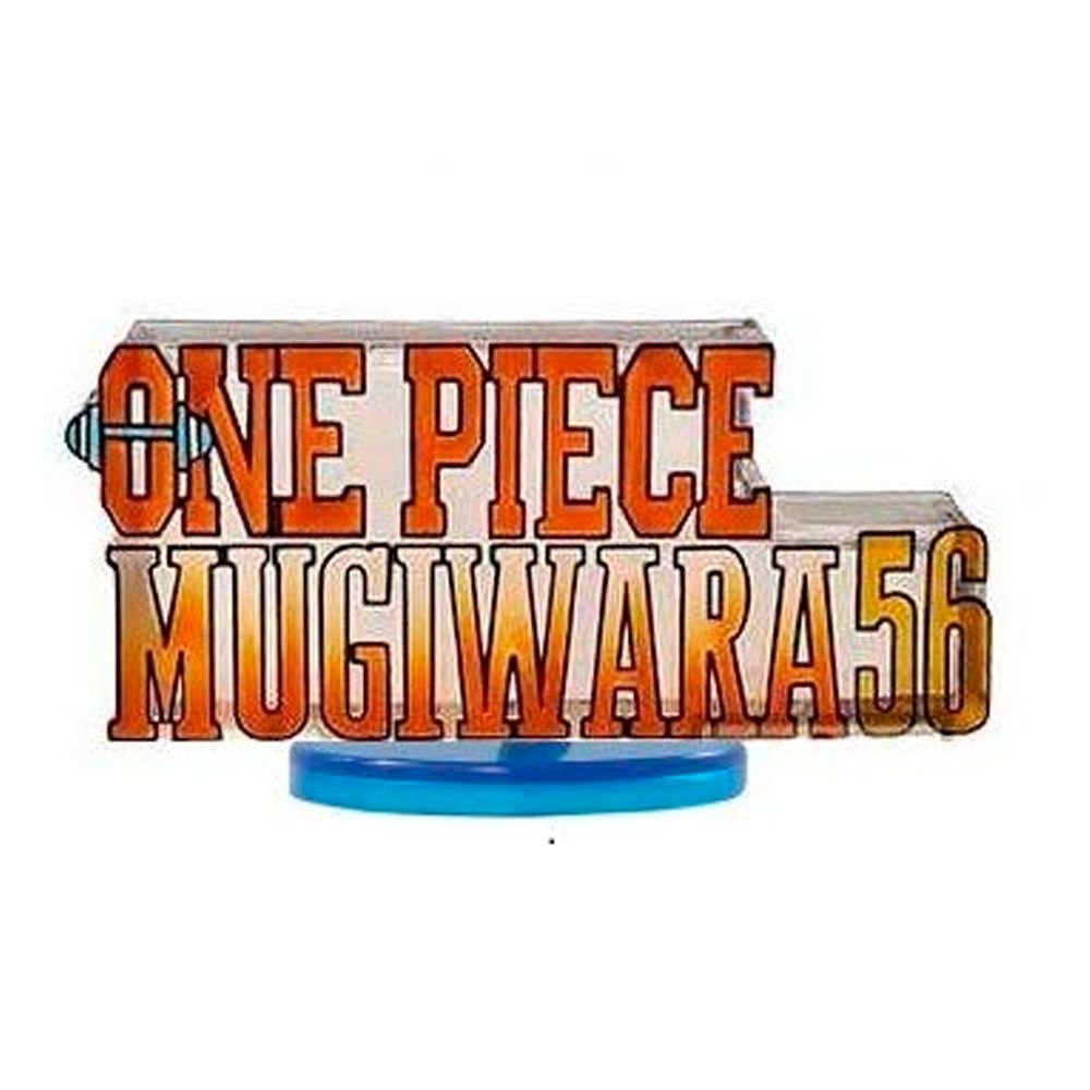 One Piece -  Mugiwara 56 Logo - WCF World Collectable Figure - Bandai Banpresto
