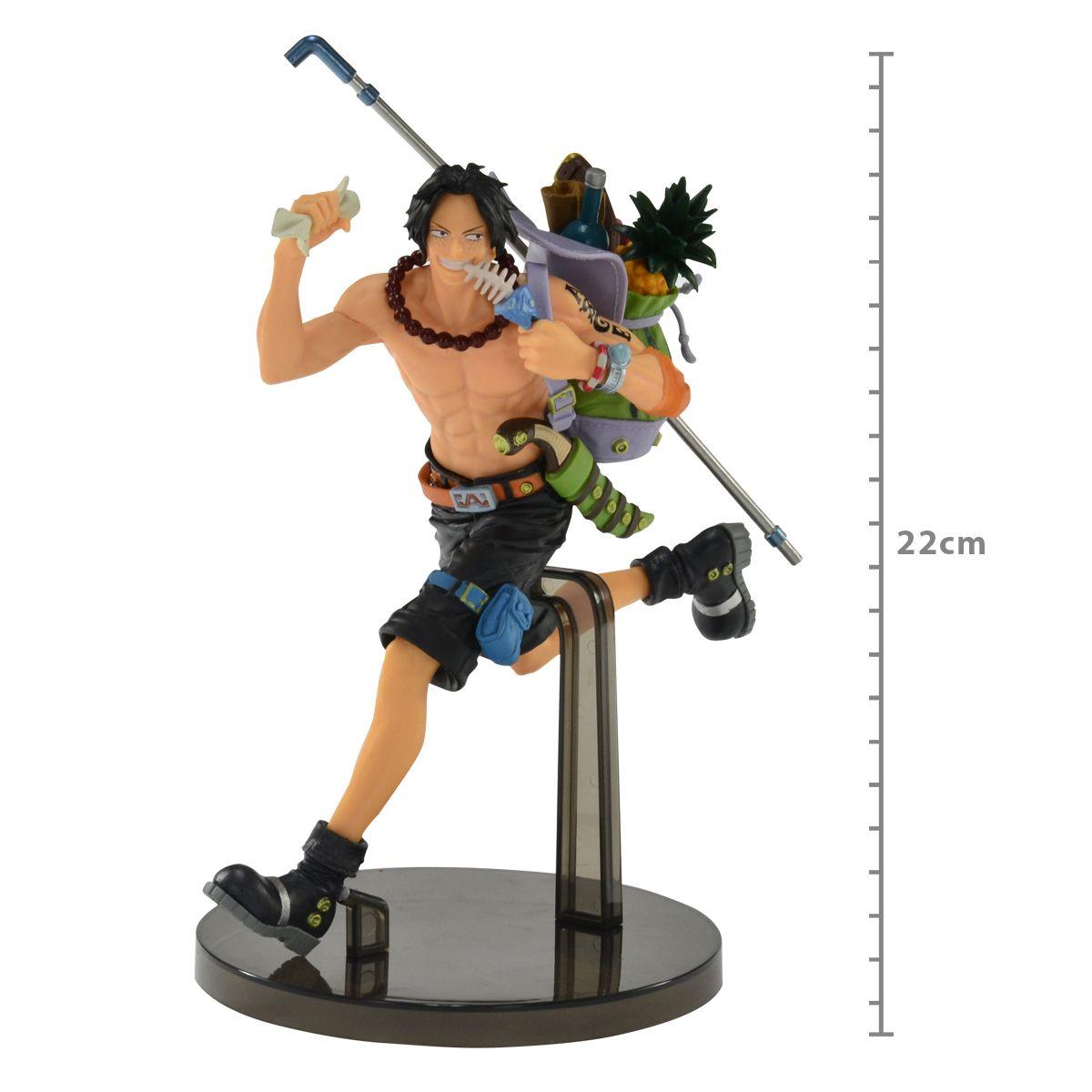 One Piece - Portgas D. Ace - One Piece Mania Produce - Bandai Banpresto