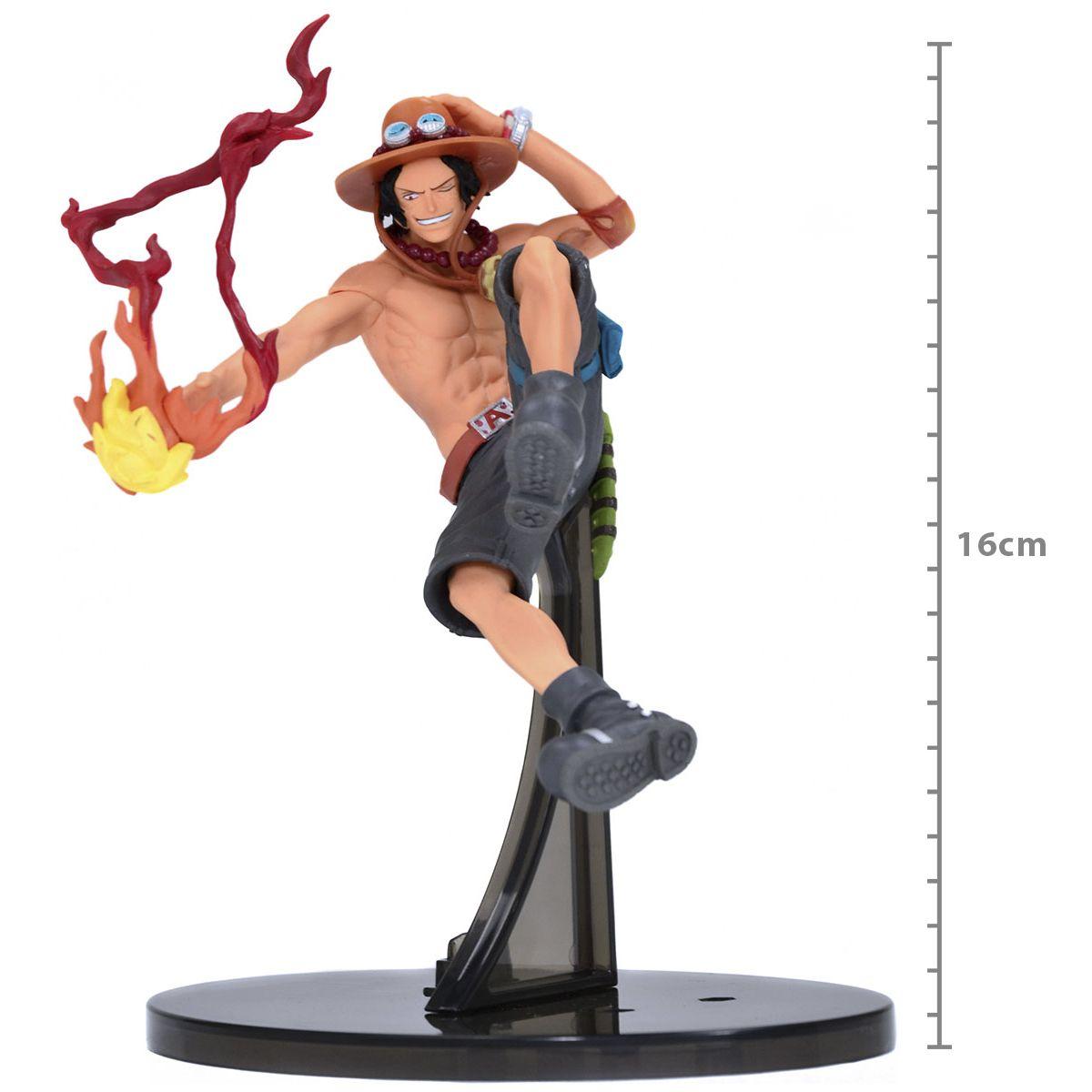 One Piece - Portgas D. Ace - One Piece SCultures - Bandai Banpresto