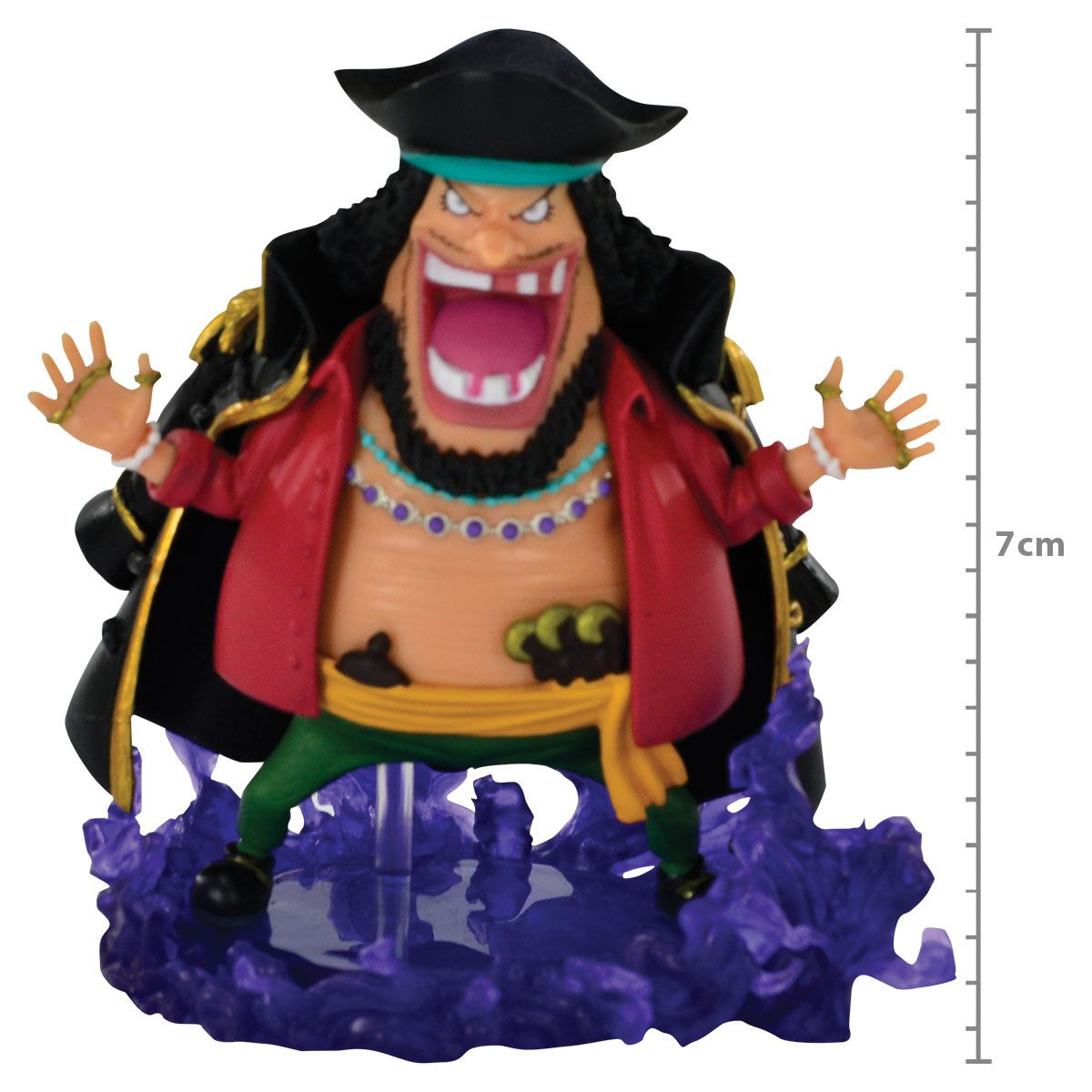 One Piece -Marshall D. Teach Blackbeard - World Collectable Figure WCF - Burst - Banpresto