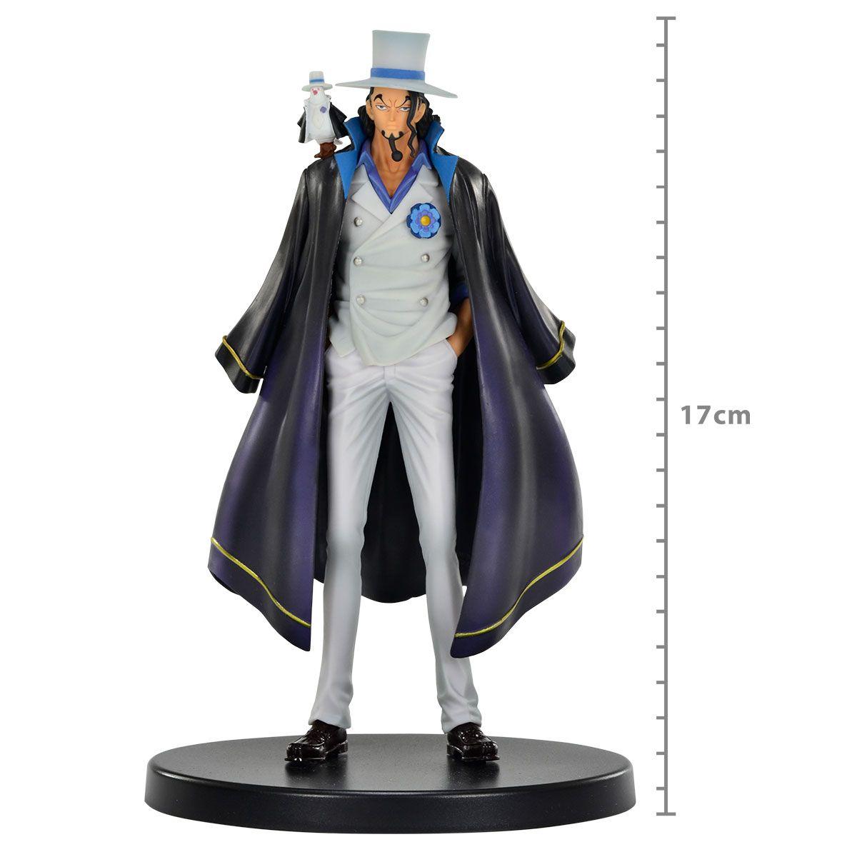 One Piece Stampede - Rob Lucci - DXF The Grandline Men Vol. 3 - Bandai Banpresto