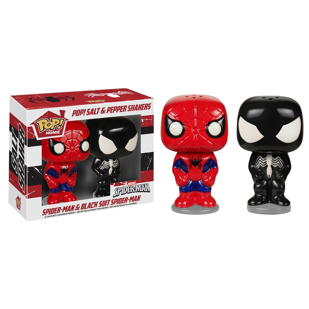 Spider Man And Venom - Salt & Pepper Shakers - Funko