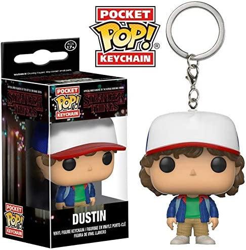 Chaveiro Stranger Things Dustin Henderson Funko Pop Keychain